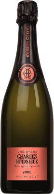 [kuva: Charles Heidsieck Vintage Rosé Champagne Brut 2005(© Alko)]