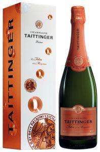 [kuva: Taittinger Les Folies de la Marquetterie Champagne Brut(© Alko)]