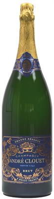 [kuva: André Clouet Grande Reserve Champagne Brut Jeroboam(© Alko)]
