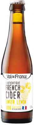 [kuva: Val de France L'Authentique French Cider Ginger Lemon(© Alko)]