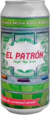 [kuva: The Piggy El Patrón Double NEIPA tölkki(© Alko)]