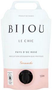 [kuva: Bijou Le Chic Rosé 2019 viinipussi(© Alko)]