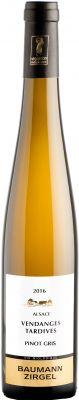 [kuva: Baumann-Zirgel Vendanges Tardives Pinot Gris 2016(© Alko)]