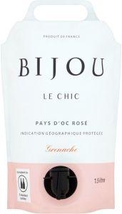 [kuva: Bijou Le Chic Rosé 2020 viinipussi(© Alko)]