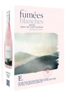 [kuva: Les Fumées Blanches Rosé 2019 hanapakkaus(© Alko)]
