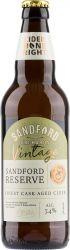 [kuva: Sandford Orchards Reserve Vintage Cider 2019]