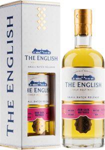 [kuva: The English Small Batch Rum Cask Single Malt(© Alko)]