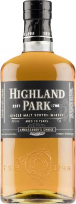 [kuva: Highland Park 10 Year Old Ambassador's Choice Single Malt(© Alko)]