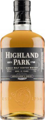 [kuva: Highland Park 10 Year Old Ambassador's Choice Single Malt(© Alko)]