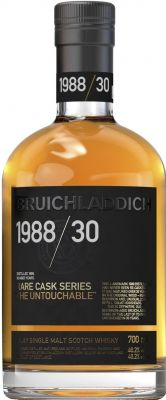 [kuva: Bruichladdich Rare Cask Series Bourbon The Untouchable Islay Single Malt 1988(© Alko)]