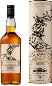 [kuva: Royal Lochnagar Game of Thrones House Baratheon 12 Year Old Single Malt(© Alko)]