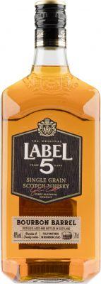 [kuva: Label 5 Bourbon Barrel Single Grain(© Alko)]