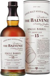 [kuva: The Balvenie Single Barrel Sherry Cask 15 Yeal Old Single Malt(© Alko)]