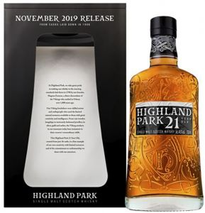 [kuva: Highland Park 21 Year Old Single Malt(© Alko)]