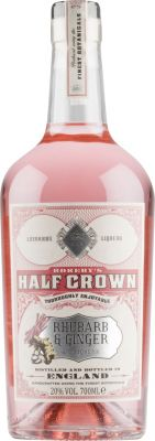 [kuva: Rokeby's Half Crown Rhubarb and Ginger Gin Liqueur(© Alko)]