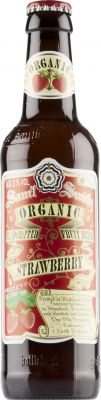 [kuva: Samuel Smith Organic Strawberry Fruit Beer(© Alko)]