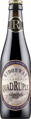 [kuva: Ridgeway Quadruple Strong Ale(© Alko)]