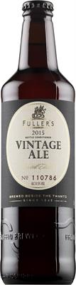 [kuva: Fuller's Vintage Ale 2015(© Alko)]