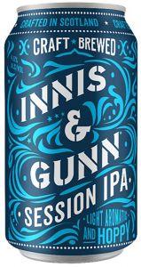[kuva: Innis & Gunn Session IPA tölkki(© Alko)]