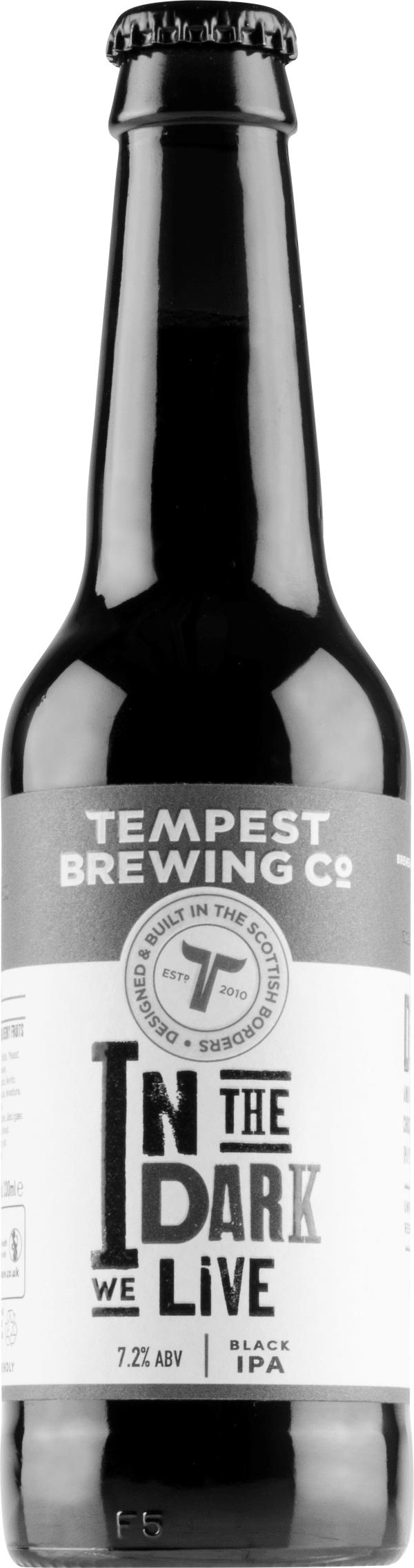 [kuva: Tempest In The Dark We Live Black IPA(© Alko)]