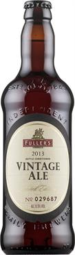 [kuva: Fuller's Vintage Ale 2013(© Alko)]