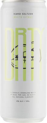 [kuva: Drty White Citrus Hard Seltzer tölkki(© Alko)]