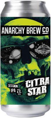 [kuva: Anarchy Citra Star Session IPA tölkki(© Alko)]