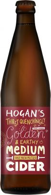 [kuva: Hogan's Medium Cider(© Alko)]
