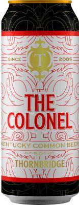 [kuva: Thornbridge The Colonel Kentucky Common Beer tölkki(© Alko)]