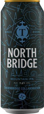 [kuva: Thornbridge North Bridge Mountain IPA tölkki(© Alko)]