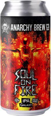[kuva: Anarchy Soul on Fire IPA tölkki(© Alko)]