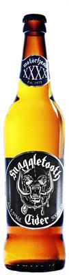 [kuva: Motörhead Snaggletooth Cider  pullo 12 x 0,5 l(© Alko)]