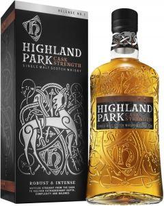[kuva: Highland Park Cask Strength Single Malt(© Alko)]
