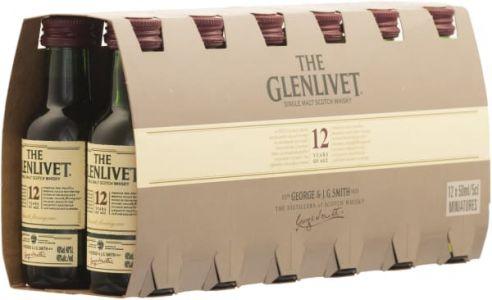 [kuva: The Glenlivet 12 Year Old Single Malt 12-pack(© Alko)]