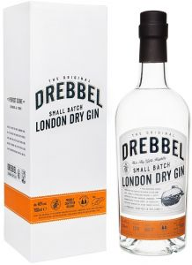 [kuva: Drebbel Small Batch London Dry Gin(© Alko)]