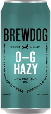 [kuva: BrewDog O-G Hazy New England IPA tölkki(© Alko)]
