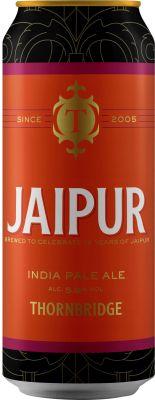[kuva: Thornbridge Jaipur IPA tölkki(© Alko)]