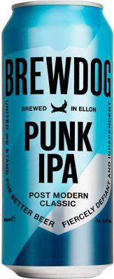 [kuva: BrewDog Punk IPA tölkki(© Alko)]