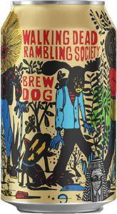 [kuva: BrewDog Walking Dead Rambling Society Brut IPA tölkki(© Alko)]