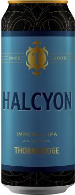[kuva: Thornbridge Halcyon Imperial IPA tölkki(© Alko)]