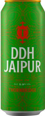 [kuva: Thornbridge DDH Jaipur IPA tölkki(© Alko)]