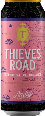 [kuva: Thornbridge Thieves Road Single Hop Pale Ale tölkki(© Alko)]