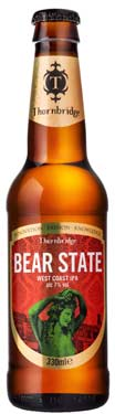 [kuva: Thornbridge Bear State West Coast IPA(© Alko)]