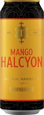 [kuva: Thornbridge Mango Halcyon tölkki(© Alko)]