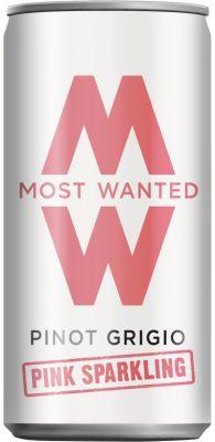 [kuva: Most Wanted Pinot Grigio Pink Sparkling tölkki(© Alko)]