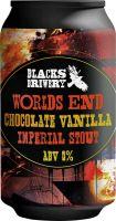 [kuva: Blacks Worlds End Chocolate Vanilla Imperial Stout tölkki]