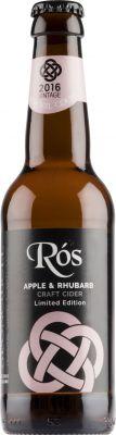[kuva: Stonewell Rós Apple & Rhubarb Craft Cider(© Alko)]