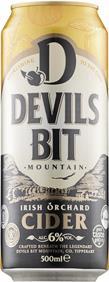 [kuva: Devils Bit Mountain Cider tölkki(© Alko)]