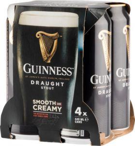 [kuva: Guinness Draught 4-Pack tölkki(© Alko)]