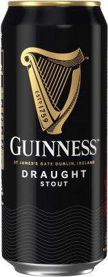 [kuva: Guinness Draught Stout tölkki(© Alko)]